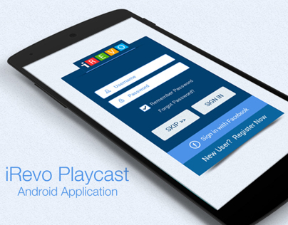 iRevo - Playcast Android Application