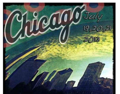 Phish Chicago Poster