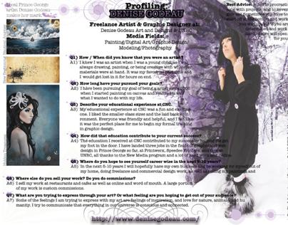 Artist Profiling Interview: Denise Godeau