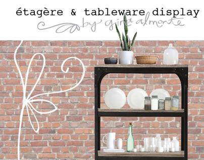 Étagère & Tableware Display