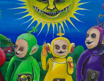 Teletubbies say fuck you!