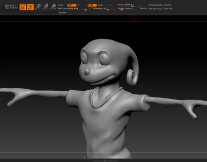"""The Bookworm"" Thesis Character Models"