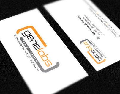 Genelabs Print Identity & Stationary