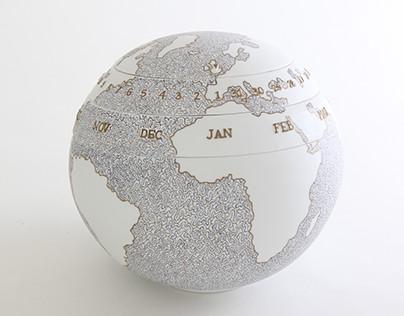 Globe calendar