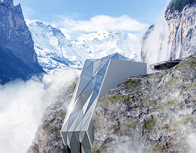 Hotel in Alps