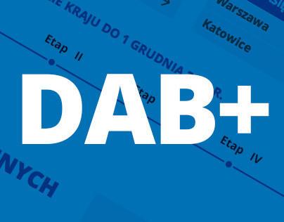 DAB plus - Website design for Polskie Radio