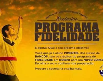 Programa de fidelidade - Pimentel