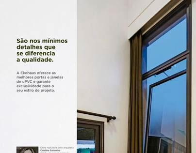 Nova campanha Ekohaus - Revista Veja