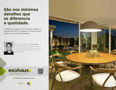 Nova campanha Ekohaus - Revista ArqArt