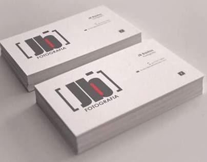 Brand e Cartão de Visitas JB Fotografia