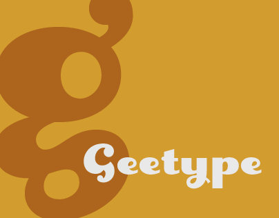 Geetype font