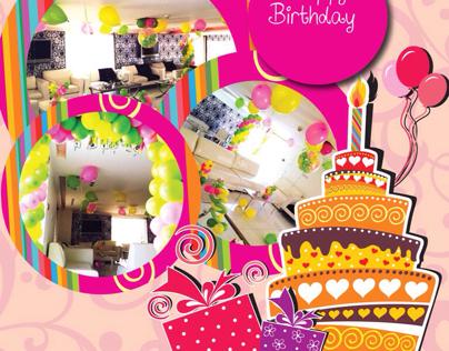 Birthday offer design