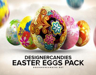 Free Easter Egg Renders Pack