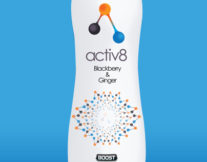 YCN Boost - New Flavoured Water Range - activ8
