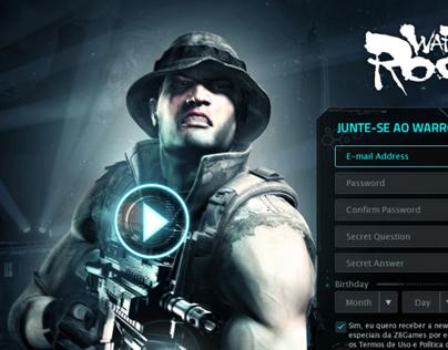 War Rock _ landing page