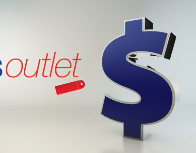 Sears Outlet - 15 Second TV Spot, 3D Animation