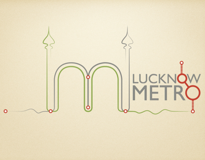 "Logo Design Competition Entry for ""Lucknow Metro Rail"""