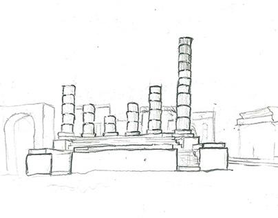 Arch & Art Sketch Work