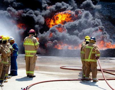 Ejercicios de Extincion de Incendios