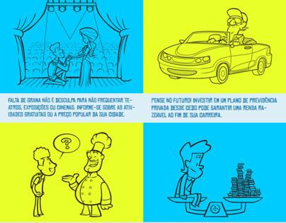 Cartoon - Listerine Essencial - Dicas