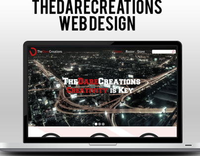 Dare Creations Web Design