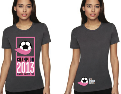Placer United Cup Tshirt Concepts