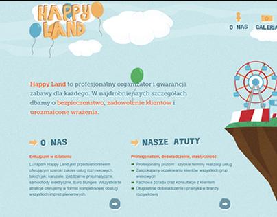 Happy Land - amusement park