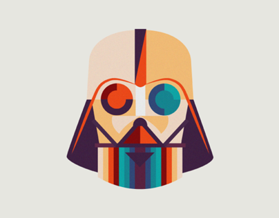 Star Wars fan art - Darth Vader Animation