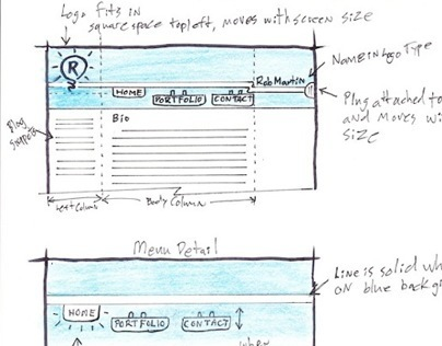 Design Sketches - Web
