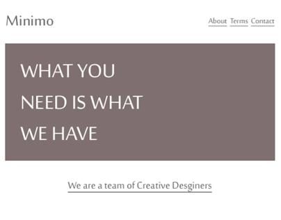 Minimo Agency Theme