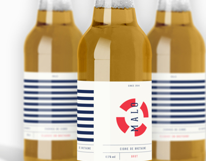 Malo Cider Packaging