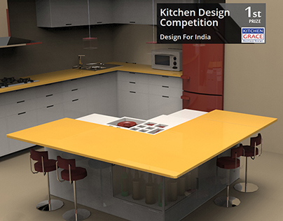 POLINO (Open Kitchen for Indian Apartments)