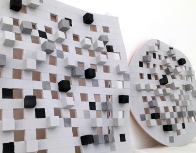 Shades of Gray - Ceramic Sculpture