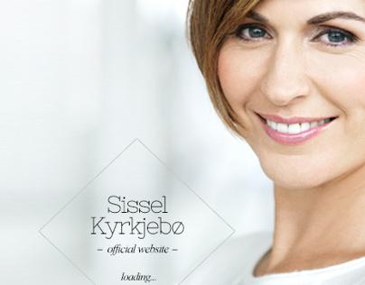 Sissel Kyrkjebø - layout proposal for official website