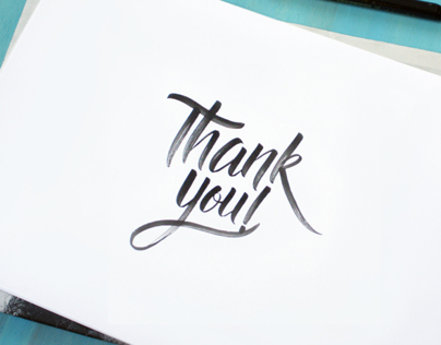"""""""Thank you!"""""""