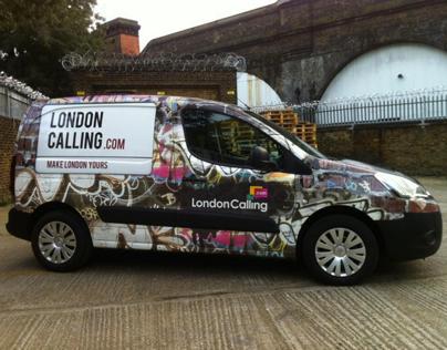 London Calling's Vans
