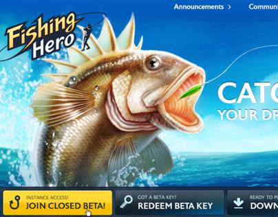 Fishing Hero website