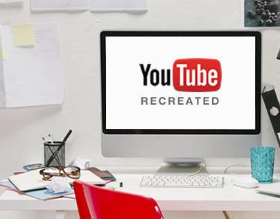 YouTube Recreated