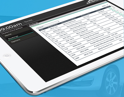Autokleen UI design