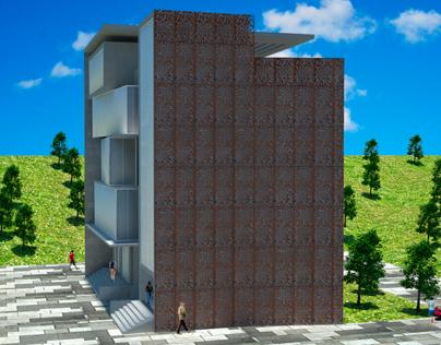 Folia facade