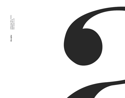 10/ten Typefaces Posters