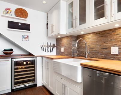 Kitchen renovation by Alair Homes.