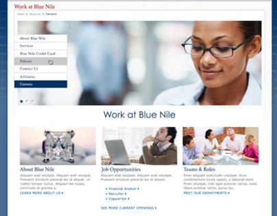 Blue Nile Career Page