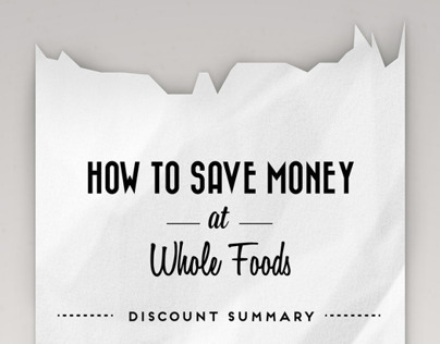 How to Save Money at Whole Foods Infographic