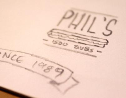 Phil's 1500 Subs Rebranding