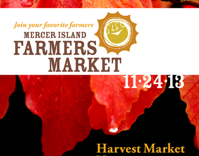 Mercer Island Farmers Market Collateral