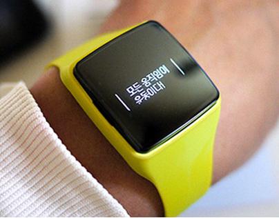 LG LifeGram LA111:: Smart Activity Tracker