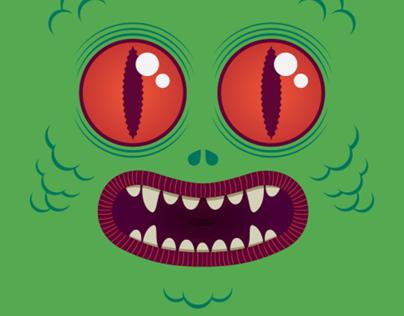 Playera Monstruo / Monster Tshirt
