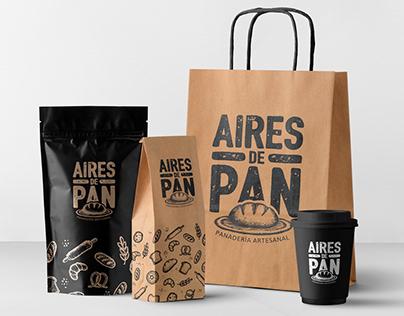 Diseño de marca para Aires de Pan