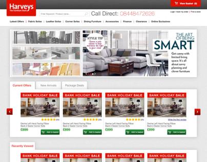 Harveys Homepage